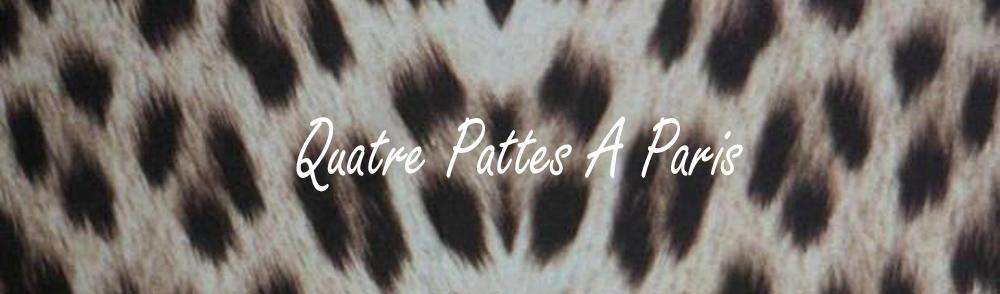"""""""Quatre Pattes A Paris"""" のブログ"""